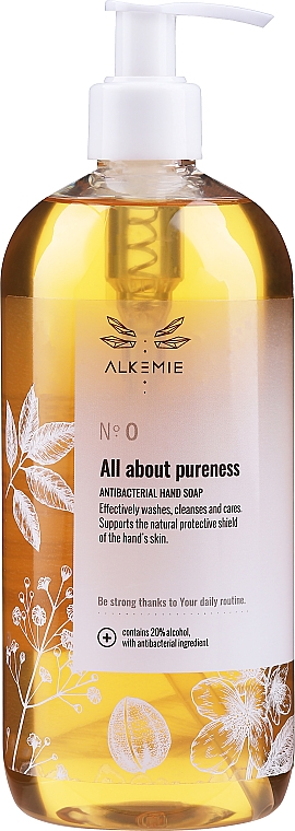 Antibacterial Hand Soap - Alkemie All About Pureness — photo N1