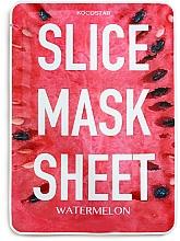 "Fragrances, Perfumes, Cosmetics Facial Slice Mask Sheet ""Watermelon"" - Kocostar Slice Mask Sheet Watermelon"