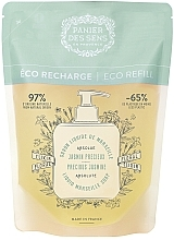 Fragrances, Perfumes, Cosmetics Jasmine Liquid Marseille Soap (doypack) - Panier Des Sens Liquid Marseille Soap Precious Jasmine