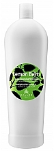 Fragrances, Perfumes, Cosmetics Melissa Shampoo for Normal & Oily Hair - Kallos Cosmetics Lemon Balm Shampoo