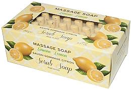 Fragrances, Perfumes, Cosmetics Lemon Massage Scrub Soap - Gori 1919 Massage Scrub Soap Lemon