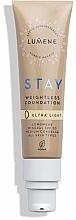 Fragrances, Perfumes, Cosmetics Weightless Long-Lasting Foundation - Lumene Stay Weightless Foundation Longwear Mineral SPF 30