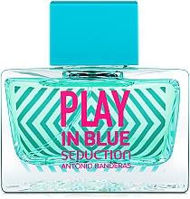 Fragrances, Perfumes, Cosmetics Antonio Banderas Play In Blue Seduction - Eau de Toilette