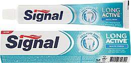 Fragrances, Perfumes, Cosmetics Whitening Toothpaste - Signal Long Active White Fresh Toothpaste