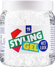 "Fragrances, Perfumes, Cosmetics Styling Hair Gel ""Wet Effect"" - Hegron Styling Gel Wet Look"