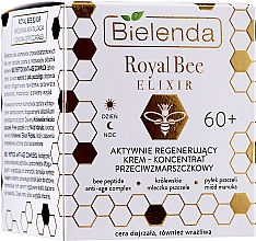 Fragrances, Perfumes, Cosmetics Active Regenerating Anti-Wrinkle Cream - Bielenda Royal Bee Elixir Face Care