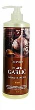 Fragrances, Perfumes, Cosmetics Black Garlic Hair Mask - Deoproce Black Garlic Intensive Energy Hair Pack
