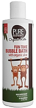 Fragrances, Perfumes, Cosmetics Bath Foam - Pure Beginnings Fun Time Bubble Bath with Organic Aloe