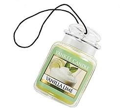 "Fragrances, Perfumes, Cosmetics Car Jar ""Vanilla & Lime"" - Yankee Candle Vanilla Lime Car Jar Ultimate"