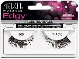 Fragrances, Perfumes, Cosmetics False Lashes - Ardell Edgy Lash 406 Black