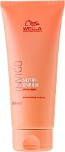 Fragrances, Perfumes, Cosmetics Hair Conditioner - Wella Professionals Invigo Nutri-Enrich Deep Nourishing Conditioner