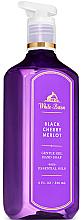 Fragrances, Perfumes, Cosmetics Hand Gel Soap - Bath and Body Works White Barn Black Cherry Merlot Gentle Gel Hand Soap
