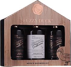 Fragrances, Perfumes, Cosmetics Set - Baylis & Harding Men's Fuzzy Duck Ginger & Lime Lixury Grooming Gift Set (ash/balm/300ml+shm/300ml+sh/gel/300ml)