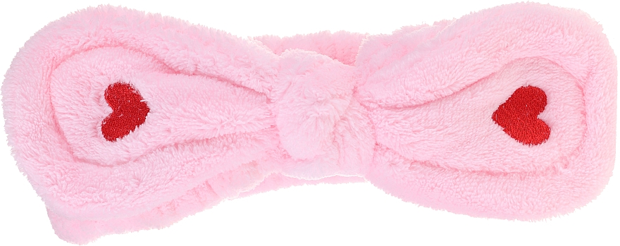 Cosmetic Hair Band, pink - Lash Brow Cosmetic SPA Band