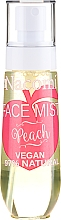 """Fragrances, Perfumes, Cosmetics Face Spray """"Peach"""" - Nacomi Face Mist Peach"""