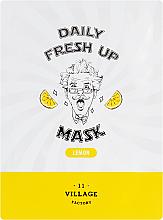 Fragrances, Perfumes, Cosmetics Lemon Sheet Mask - Village 11 Factory Daily Fresh Up Mask Lemon