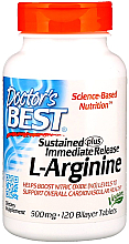 Fragrances, Perfumes, Cosmetics L-Arginine, 500 mg, 120 bilayer tablets - Doctor's Best