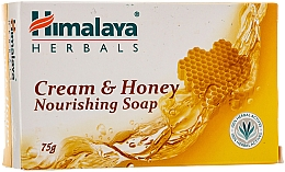 Fragrances, Perfumes, Cosmetics Nourishing Creamy Honey Soap for Normal to Dry Skin - Himalaya Herbals Cream Honey Soap