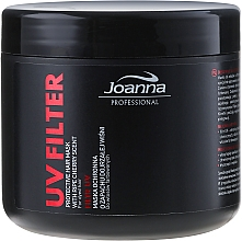 Fragrances, Perfumes, Cosmetics UV Filter Colored Hair Mask with Cherry Scent - Joanna Professional Protective Hair Mask UV Filter
