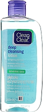 Fragrances, Perfumes, Cosmetics Deep Cleansing Facial Lotion for Sensitive Skin - Clean & Clear Deep Cleansing Lotion