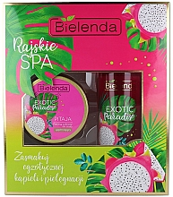Fragrances, Perfumes, Cosmetics Set - Bielenda Exotic Paradise Pitaja (scrub/350g + butter/400ml)