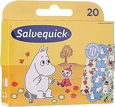 Fragrances, Perfumes, Cosmetics Kids Plasters - Salvequick Moominki