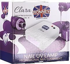 Fragrances, Perfumes, Cosmetics Nail UV Lamp, light purple - Ronney Profesional Clara UV 36W (GY-UV-818) Lamp