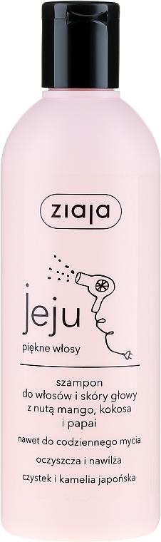 Mango, Coconut and Papaya Hair Shampoo - Ziaja Jeju