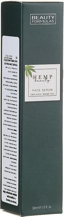 Hemp Oil Face Serum - Beauty Formulas Hemp Beauty Face Serum