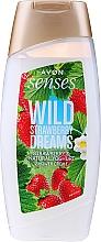 Fragrances, Perfumes, Cosmetics Strawberry & Yogurt Shower Cream Gel - Avon Senses Wild Strawberry Dreams Shower Creme