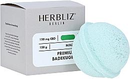 Fragrances, Perfumes, Cosmetics Mint Bath Bomb - Herbliz CBD