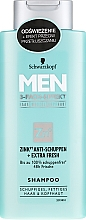 Fragrances, Perfumes, Cosmetics Anti-Dandruff Shampoo - Schwarzkopf Men Deep Effect 3 Zinc Anti-Dandruff+Oil Control Shampoo