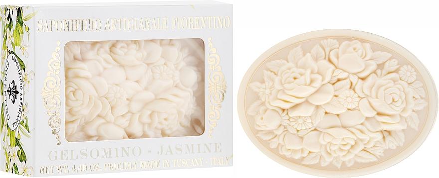"""Natural Soap """"Jasmine"""" - Saponificio Artigianale Fiorentino Botticelli Jasmine Soap"""