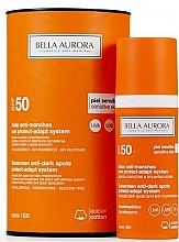 Fragrances, Perfumes, Cosmetics Sunscreen Fluid for Sensitive Skin - Bella Aurora Solar Anti-Stain Sensitive Skin SPF50+