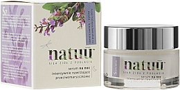 Fragrances, Perfumes, Cosmetics Night Face Serum with Sage Extract - Natuu Smooth & Lift Night Face Serum