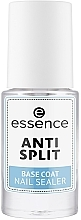 Fragrances, Perfumes, Cosmetics Nail Anti-Peeling Base Coat - Essence Anti Split Base Coat Nail Sealer