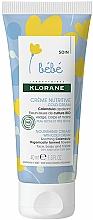 Fragrances, Perfumes, Cosmetics Nourishing Cream - Klorane Baby Nourishing Cream with Cold Cream