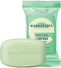 Fragrances, Perfumes, Cosmetics Cleansing Vitamin E & Green Tea Soap - Oriflame Essentials Soap Purifying Bar Vitamin E & Green Tea