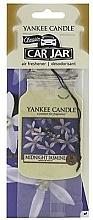 "Fragrances, Perfumes, Cosmetics Car Air Freshener ""Midnight Jasmine"" - Yankee Candle Midnight Jasmine Jar Classic"