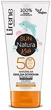 Fragrances, Perfumes, Cosmetics Kids Sun Emulsion SPF50+ - Lirene Sun Natura Kids Protective Emulsion SPF50+