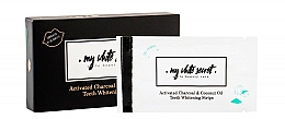Fragrances, Perfumes, Cosmetics Whitening Strips - My White Secret Whitening Strips With Activated Charcoal And Coconut Oil