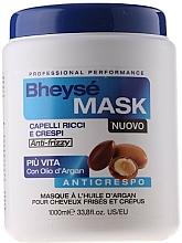 Fragrances, Perfumes, Cosmetics Argan Oil Mask for Wavy Hair - Renee Blanche Bheyse Maschera Capelli Ricci e Crespi