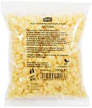 "Fragrances, Perfumes, Cosmetics Depilatory Wax in Granules ""Natural"" - Ronney Hot Film Wax Natural"