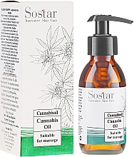Fragrances, Perfumes, Cosmetics Massage Cannabis Oil - Sostar Cannabidiol Oil Cannabis Extract