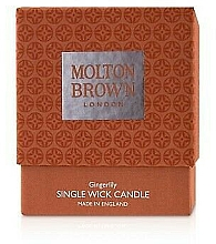 Fragrances, Perfumes, Cosmetics Molton Brown Gingerlily Single Wick Candle - Single Wick Candle