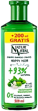 Fragrances, Perfumes, Cosmetics Strengthening Shampoo - Natur Vital Happy Hair Reinforcing Shampoo