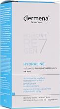 Fragrances, Perfumes, Cosmetics Nourishing Moisturizing Facial Night Cream - Dermena Skin Care Hydraline Night Cream