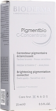 Fragrances, Perfumes, Cosmetics Face Serum - Bioderma Pigmentbio C Concentrate Brightening Pigmentation Corrector
