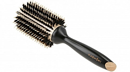 Fragrances, Perfumes, Cosmetics Round Hair Brush, 38 mm - Kashoki Hair Brush Natural Beauty