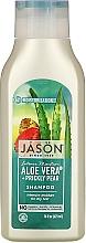 "Fragrances, Perfumes, Cosmetics Moisturizing Hair Shampoo ""Aloe Vera"" - Jason Natural Cosmetics Moisturizing Aloe Vera 84% Shampoo"